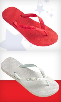 Women's Top (red & white)