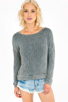 MINDI ACID CROPPED SWEATSHIRT 44