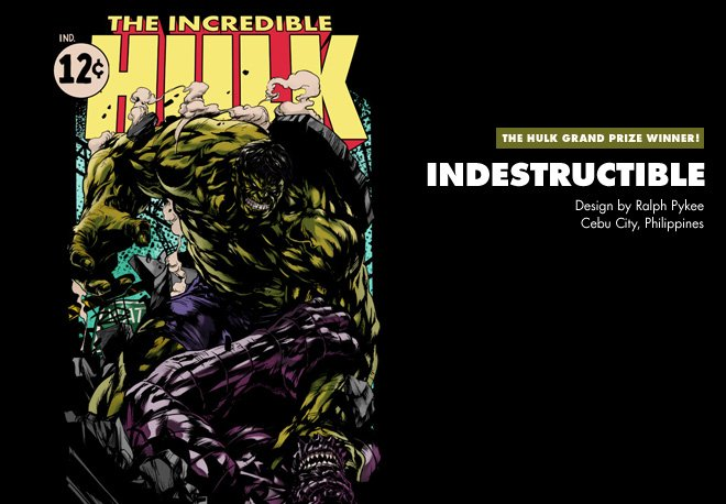 Grand Prize Winner - INDESTRUCTIBLE - Design by Ralph Pykee / Cebu City, Philippines