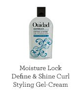 Moisture Lock Define and Shine Curl Styling Gel-Cream