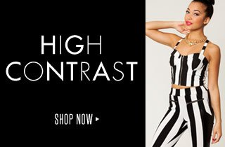 High Contrast: Black & White