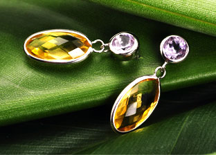Gemstones Sale: Earrings