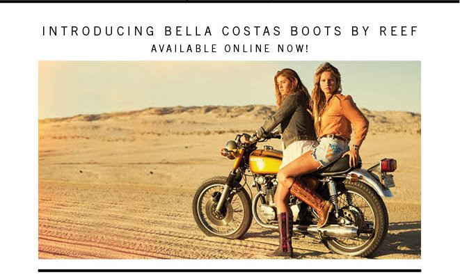 New Bella Costa Boots Are Here! Come Along For The Ride