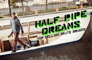 Top Selling Skate Brands