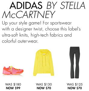 ADDIDAS BY STELLA MCCARTNEY