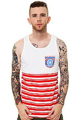 The Valiant Tank Top in Red
