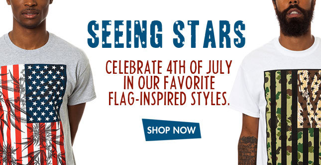 Stars and Stripes Styles from 10 Deep, Fly Society, NEFF and more