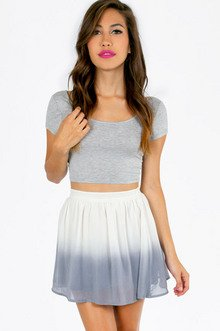 SAY OMBRE SKATER SKIRT 35