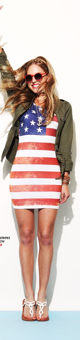 Stars and Stripes Bodycon