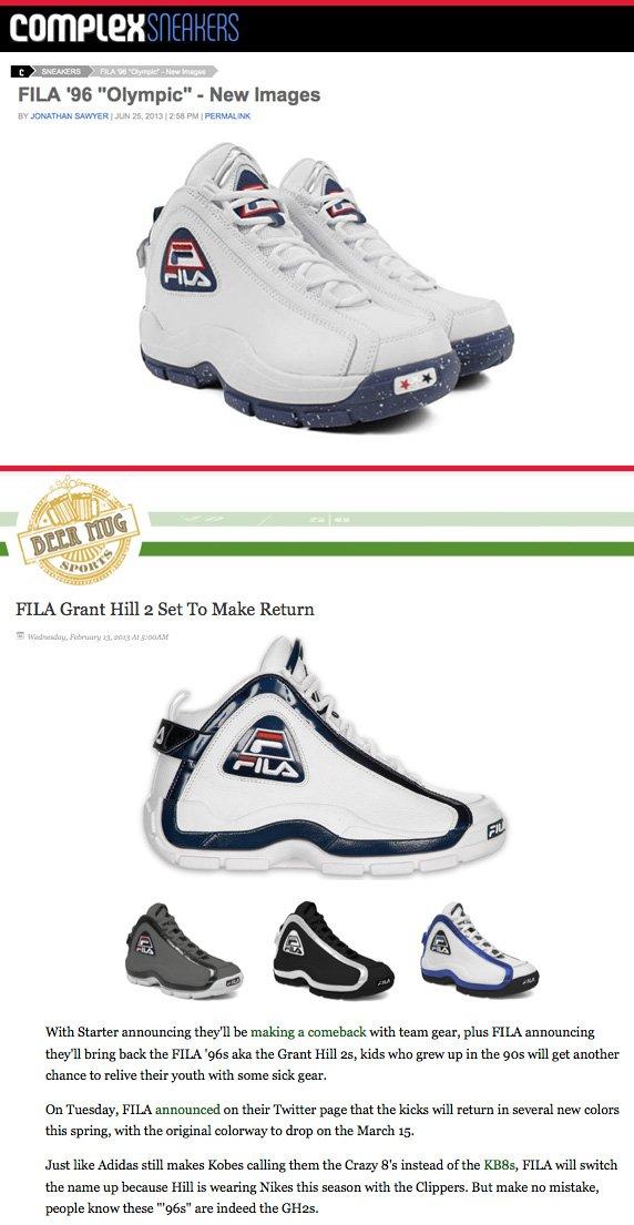 fe8274730332 FILA  Week of July 1  Heritage Lifestyle Footwear Update