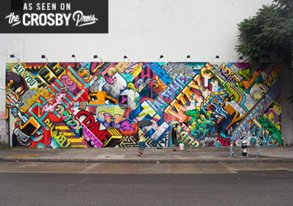 Shop REVOK & POSE Go Hammer on the Bowery Wall