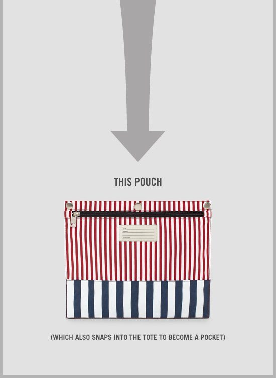 The Stowaway Tote. Shop Bags.