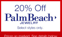 20% Off Palm Beach Jewelry