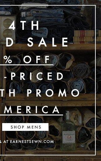 25% Off Mens