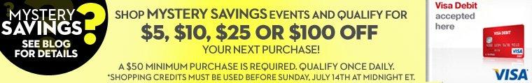Mystery Savings