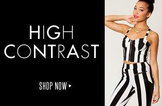 High Contrast: Black & White