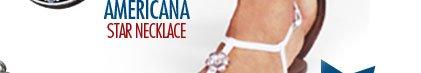 Americana Star Necklace