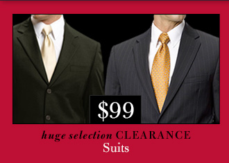 $99 USD Clearance Suits