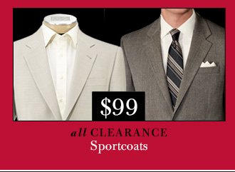$99 USD Clearance Sportcoats