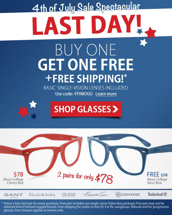 LAST CHANCE to Buy 1 Get 1 FREE!