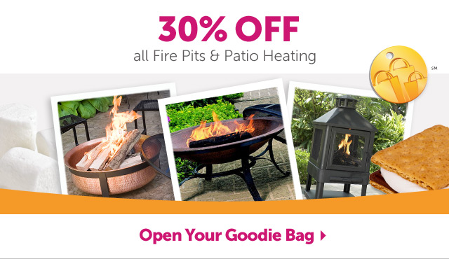 30% OFF all Fire Pits & Patio Heating - Shop Now