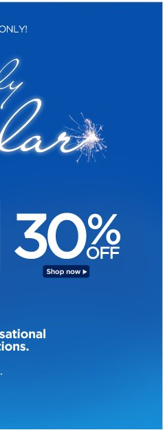 4th of July Spectacular! 30% Off
