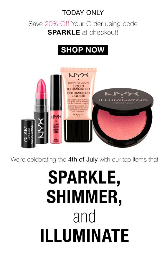 NYX Cosmetics 4th of July Sale