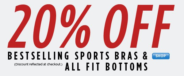 SHOP Bestselling Sports Bra & Fit Bottom Sales!