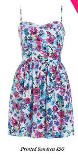 Printed Sundress