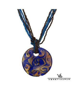 VENETIAURUM Made In Italy Necklace Made In Gold Plated Silver