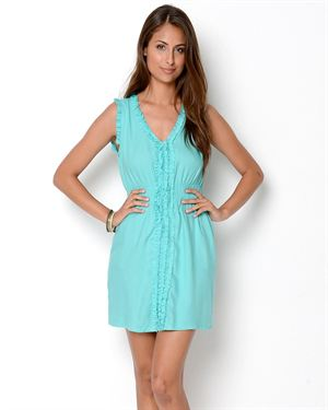Angie Sleeveless Ruffle Dress
