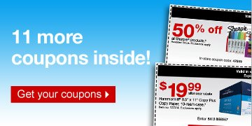11 more  coupons inside! Get your coupons.