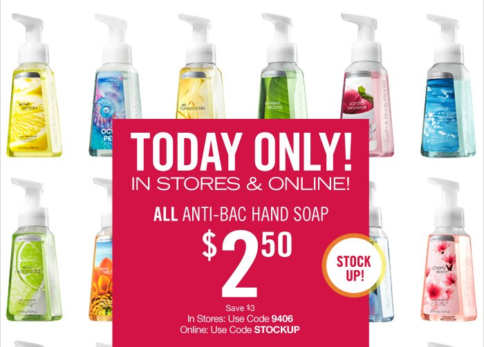 All Anti-Bac – $2.50