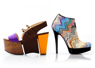 Fendi & Missoni Women's Footwear Made In Italy