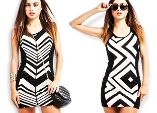 Dresses: Black & White
