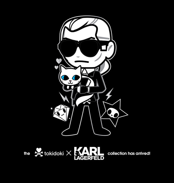Travel around the world with Karl and Choupette, and discover the tokidoki x Karl collection in the KARL LAGERFELD stores