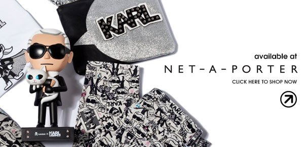 The tokidoki x Karl collection is available online exclusively at http://www.net-a-porter.com/
