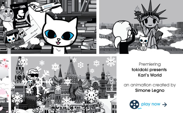 Watch tokidoki presents Karl's World, an animation created by Simone Legno