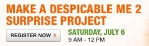 Make a Despicable Me 2 surprise project