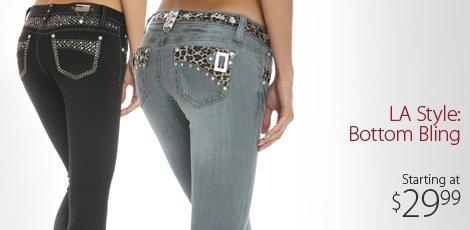 La style: bottom bling