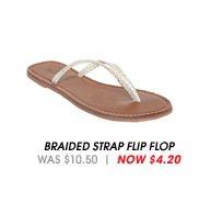 Braided Strap Flip Flop