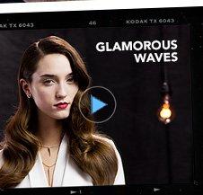 glamorous waves