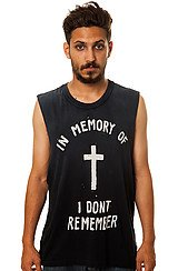The In Memory Tank Top in Black