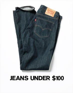 JEANS UNDER $100