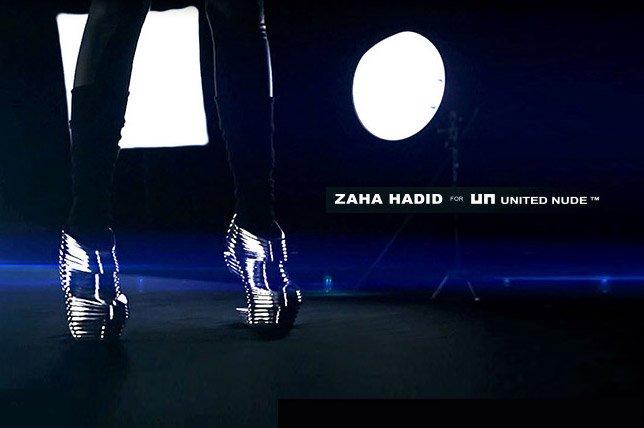 Zaha Hadid for United Nude
