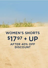 Women's Shorts | $17.97 + Up | After 40% Off Discount