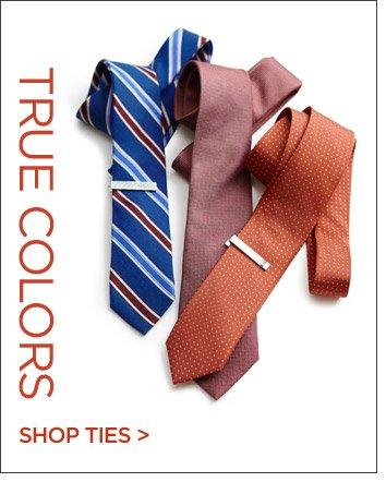 TRUE COLORS | SHOP TIES