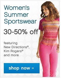 Women's Summer Sportswear 30-50% off. Shop now.