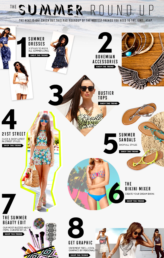 Shop The Hottest Trends for the Summer! - Shop Now