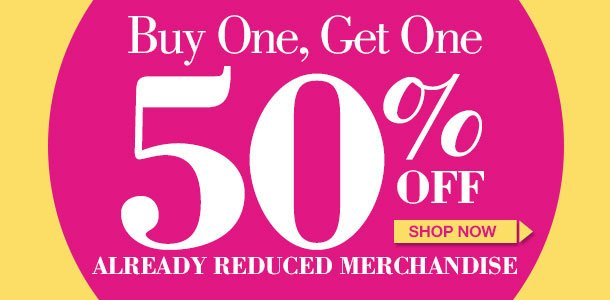 Clearance Special! Save on Already Reduced Merchandise! SHOP NOW!